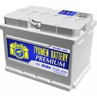 Tyumen battery 6ст-60LA Премиум о.п. низкий