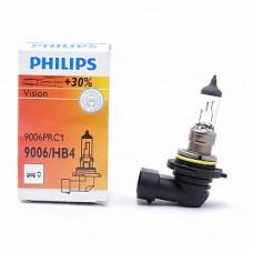 Автолампа галогеновая HB4 12V 55W P22d (9006) Vision+30% (Philips)