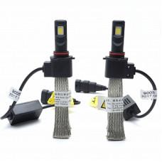 Автолампа светодиодная НB3 Epistar LED 5000К 2шт c лентой охлаждения