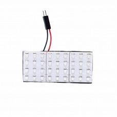 Автолампа светодиодная LED плата 12V Green ELP3528-36-Q3
