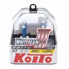 Автолампа галогеновая H7 12V 55W 4200K 2шт (Koito)
