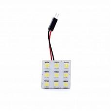 Автолампа светодиодная LED плата 12V White ELP5050-9-Q1
