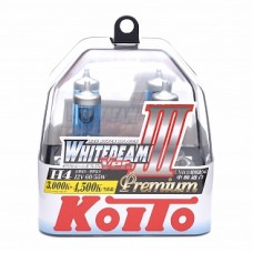 Автолампа галогеновая H4 12V 60/55W 4500K 2шт (Koito)