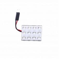 Автолампа светодиодная LED плата 12V Red ELP3528-12-Q1
