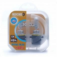 Автолампа галогеновая HB4 12V 51W P22D Extra Blue+60% 2шт (BOCXOD)