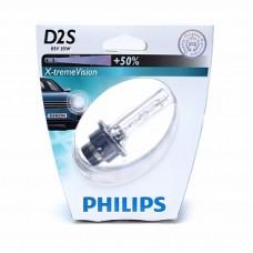 Автолампа ксенона D2S 85V 35W X-tremeVision (Philips)