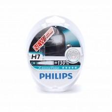 Автолампа галогеновая H7 12V 55W PX26d X-treme Vision+130% 2шт (Philips)