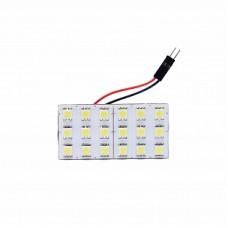 Автолампа светодиодная LED плата 12V White ELP5050-18-Q2