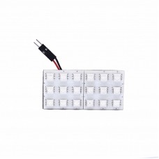 Автолампа светодиодная LED плата 12V Green ELP5050-18-Q2