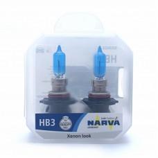 Автолампа галогеновая HB3 12V W5W 65W P20d (9005) Range Power White (Narva) 2шт