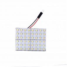 Автолампа светодиодная LED плата 12V White ELP3528-48-Q4