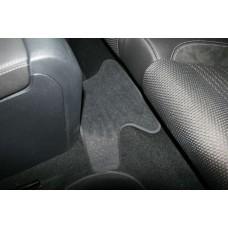 Коврики в салон VW Scirocco 2009->, хб., 5 шт. (текстиль)