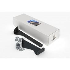 Комплект защиты заднего бампера и крепеж NISSAN X-Trail (2008-2014) (3мм) 2,0/2,5 МКПП/АКПП