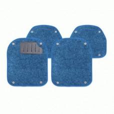 Комплект вкладышей в автомобильные коврики PET-500i BL