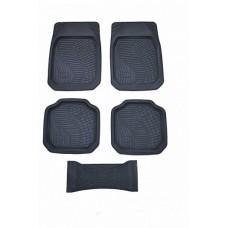 Коврики-ванночка 5 предметов ZORK Forma ПВХ серый ZR-80047