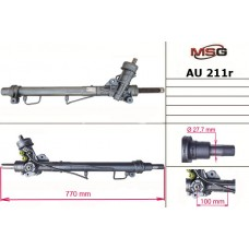 Рулевая рейка с ГУР восстановленная AUDI A4 (8D2, B5) 94-00;SKODA SUPERB (3U4) 01-08