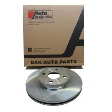 тормозной диск TOYOTA FUNCARGO / VITZ RS / PROBOX / BB / Will / IST 99-05- 4WD, FR 43512-52030
