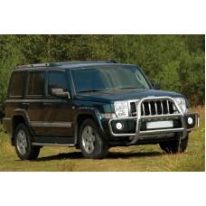 "Решётка передняя с защитой бампера d 76 ""Jeep Commander"", JCOM.53.0349"
