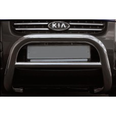 Решетка передняя мини d76, низкая, KIA Sportage, 2005-2008, KISP.56.0250